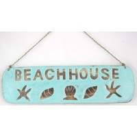 Beach House Sign Shells